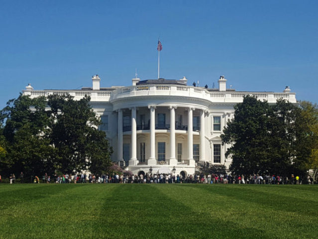 White House Locked Down After Man Reportedly Shoots Himself Outside