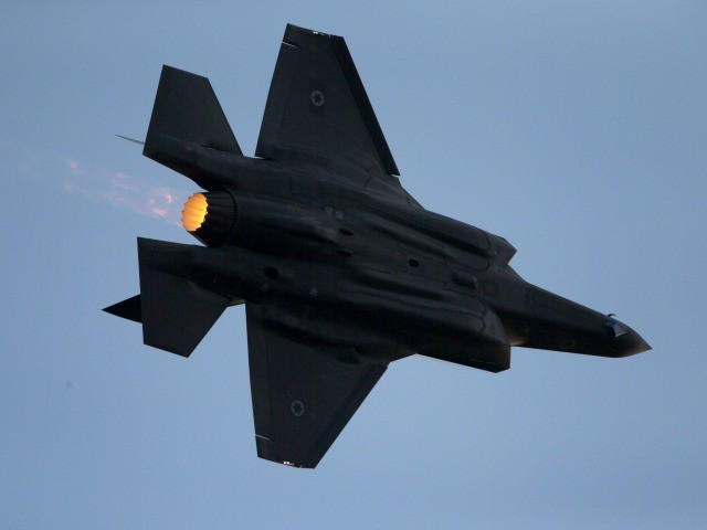 Report: Israeli Stealth Fighter Jets Fly Over Iran