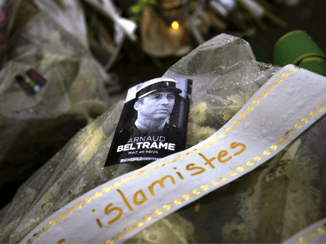 France Mourns Slain Police Officer and Other Victims of Trebes Terror Attack