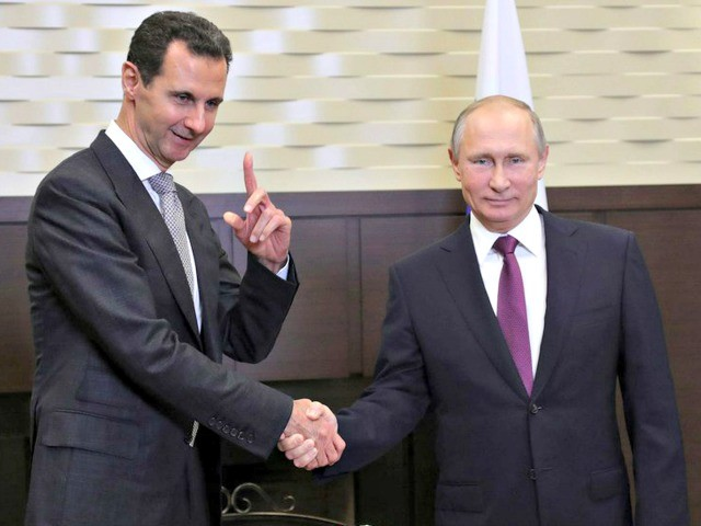 French Intel Doc: Russian Forces 'Enable' Bashar Assad's Offensives in Urban Areas