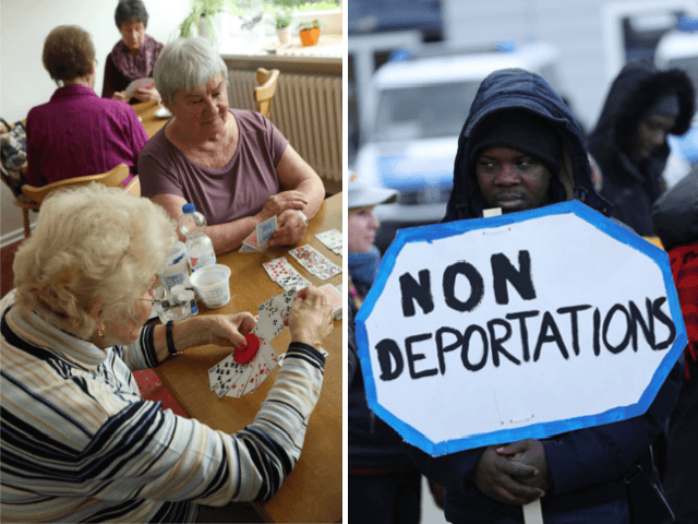 Germany's Green Party: Let Illegal Migrants Who Agree to Work in Elderly Care Stay