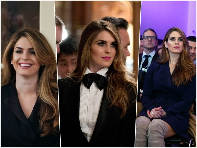 Fashion Notes: Hope Hicks' Greatest Style Moments in the White House