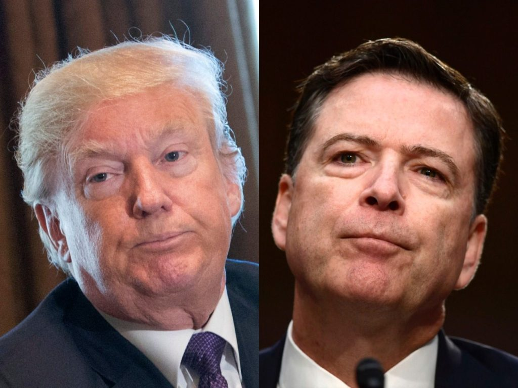 James Comey Attacks Trump 'Spin' Response but Pitched NYT Oped to Obama WH About Russian Interference