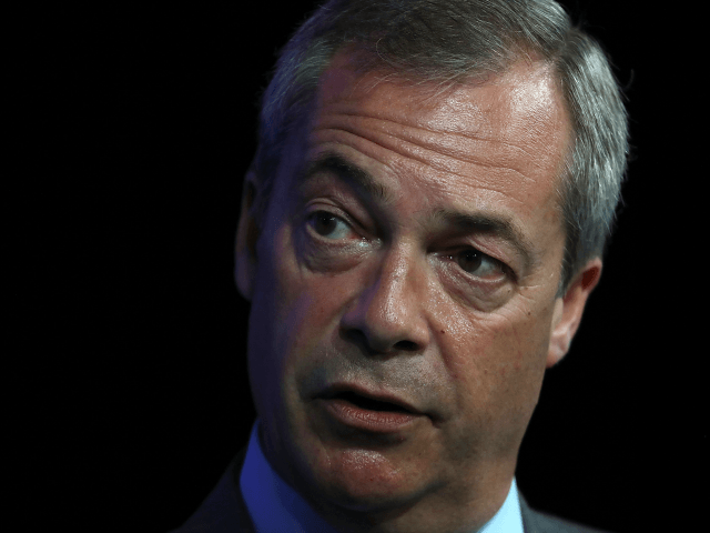 Nigel Farage Slams Theresa May over Syria, Strikes 'Not in National Interest'