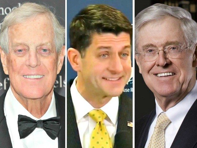 Paul Ryan, GOP Establishment Look to Fulfill Koch Brothers' Wage-Crushing Amnesty Dreams Ahead of Midterms