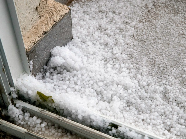 EXCLUSIVE VIDEO: Watch as Rare Hail Storm Batters Israel