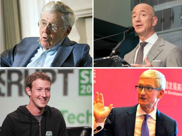 Zuckerberg, Tim Cook, Koch Brothers, Bezos: Corporate Elites Determined to Flood U.S. with Foreigners