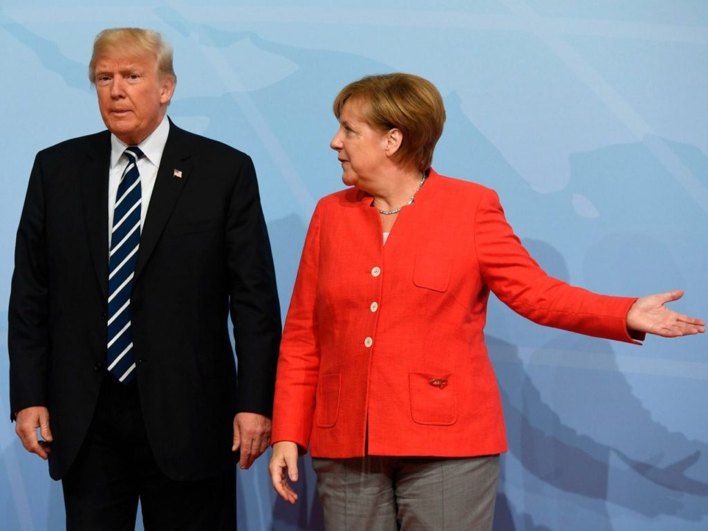 Merkel: Europe Will Push Back if Hit With Trump's Trade Tariffs