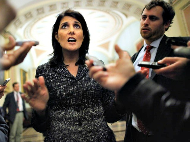 Nikki Haley Snaps at Kudlow on Russia Sanctions: 'I Don't Get Confused'