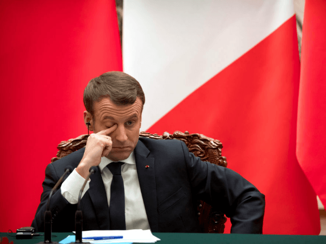 France: Majority 'Unhappy' with Globalist President Macron