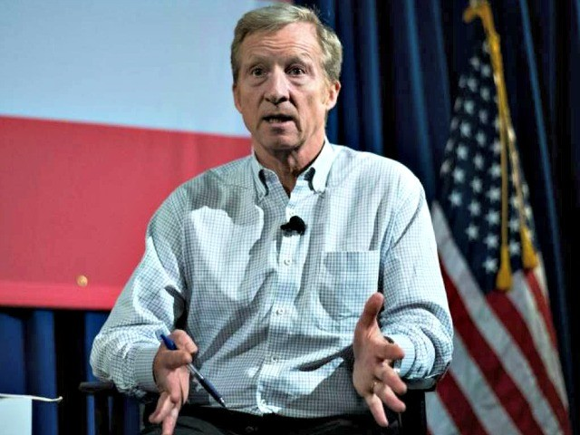 Tom Steyer Holds Impeachment Town Hall in Oakland