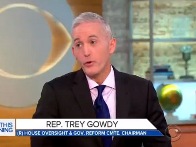 Gowdy: Sessions Should Have Shared Reason for Recusal with Trump