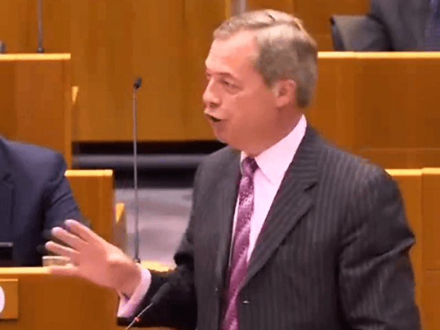 WATCH: Farage Causes Ruckus in EuroParl After Calling Belgium a 'Non-Nation'