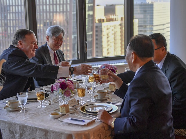 Pompeo Dines with U.S.-Sanctioned North Korean Terrorist in NYC