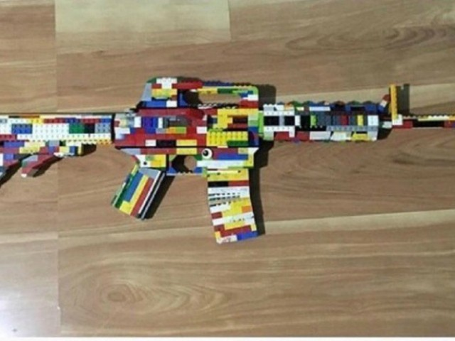 School Calls Police on Student Who Made Gun with Legos