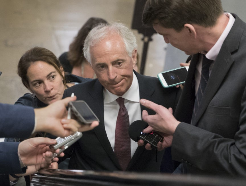 Bob Corker on Iran Deal: 'Disappointing Administration Was Unable to Reach an Agreement with Our Allies'