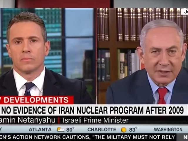CNN's Chris Cuomo Shills for Iran Deal, Gets Basic Facts Wrong in Combative Netanyahu Interview