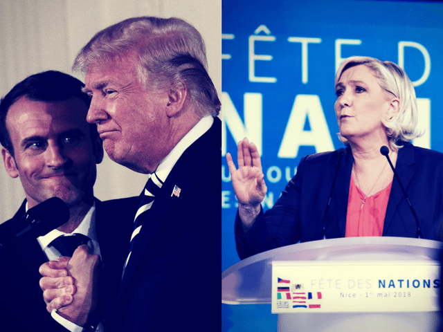EXCLUSIVE — Marine Le Pen's Message to Trump: 'Macron Is Not a New Political Cycle, He's the End of the Old One'