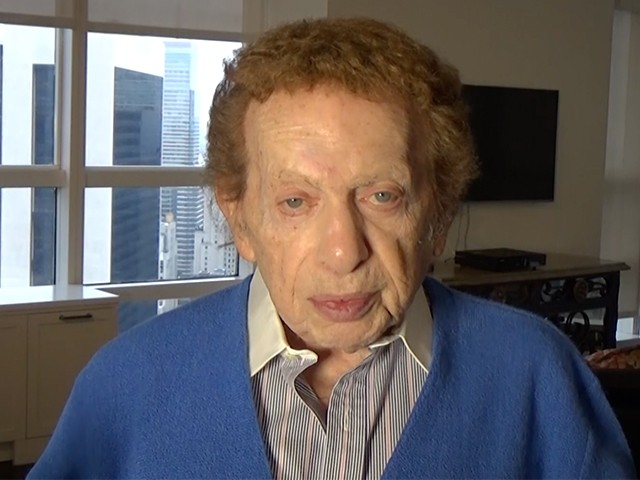 EXCLUSIVE – Jackie Mason: Supporting Trump Is the First Sane Thing Kanye Did