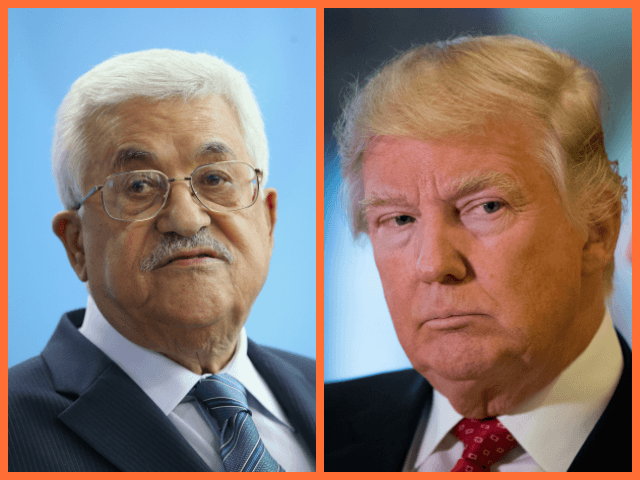 Abbas Suggests Trump's Jerusalem Move Put Him in the Hospital