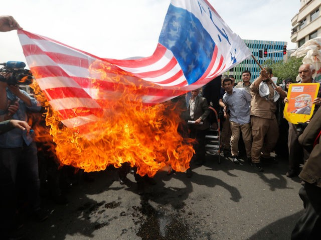 'Death to America': Iran Stages Anti-American Protests After Nuclear Deal Withdrawal