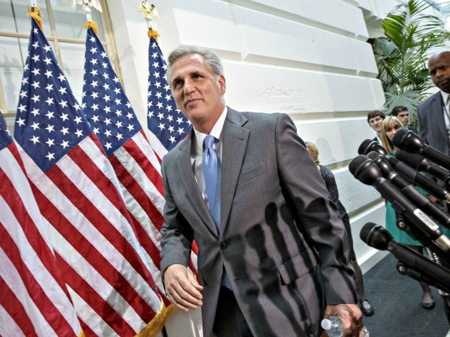 Kevin McCarthy: GOP 'Very Close' to Immigration Deal
