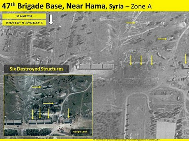 U.S. Officials: Israel Behind Strike on Iranian Base in Syria, Prepping for Possible War
