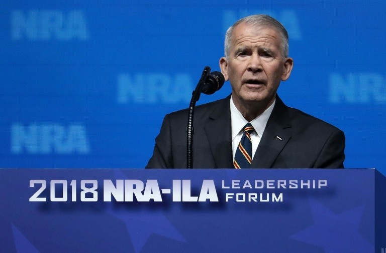 Oliver North New President of NRA, Wayne LaPierre to Continue as CEO