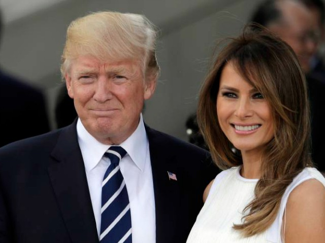 Melania Trump Hospitalized for Benign Kidney Condition