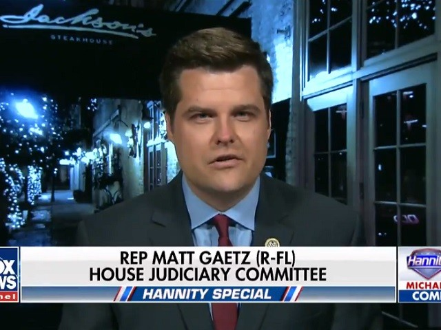 Gaetz: 'Very Embarrassing' for Left, Media That Dennis Rodman Conducted More N Korea Diplomacy Than Obama