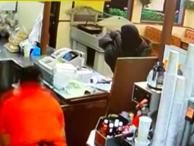 WATCH: Fast Food Robbery Suspect Shot Twice by Customer in Drive-Thru