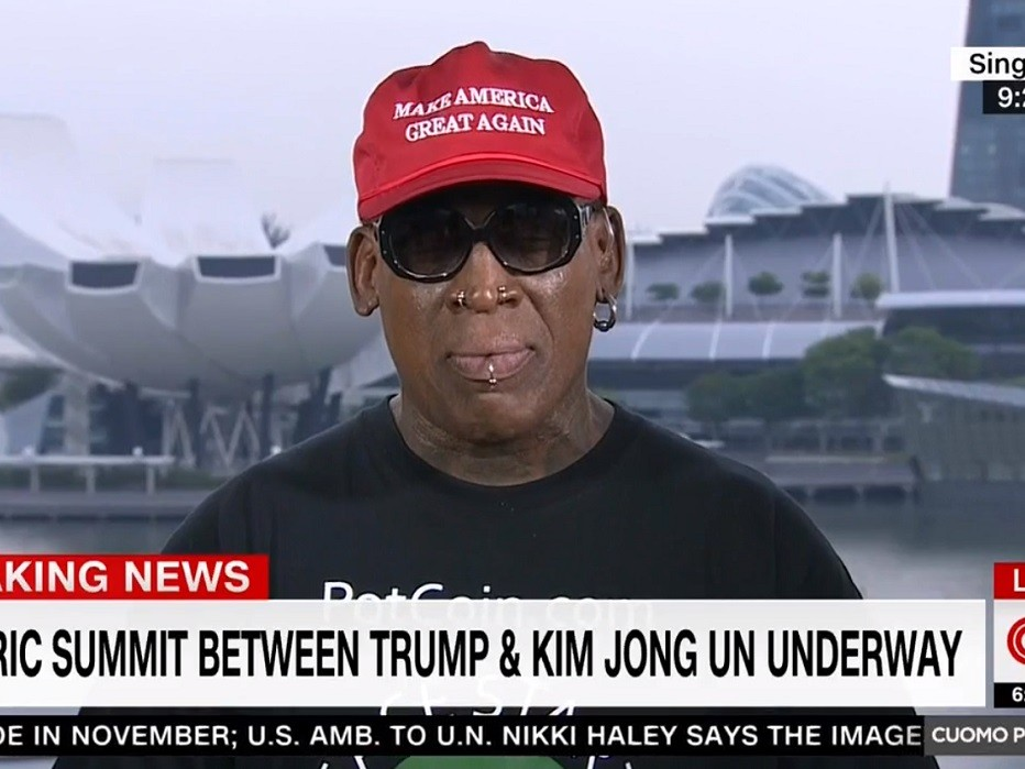 'Obama Didn't Even Give Me the Time of Day': Dennis Rodman Breaks Down Crying in CNN Victory Lap