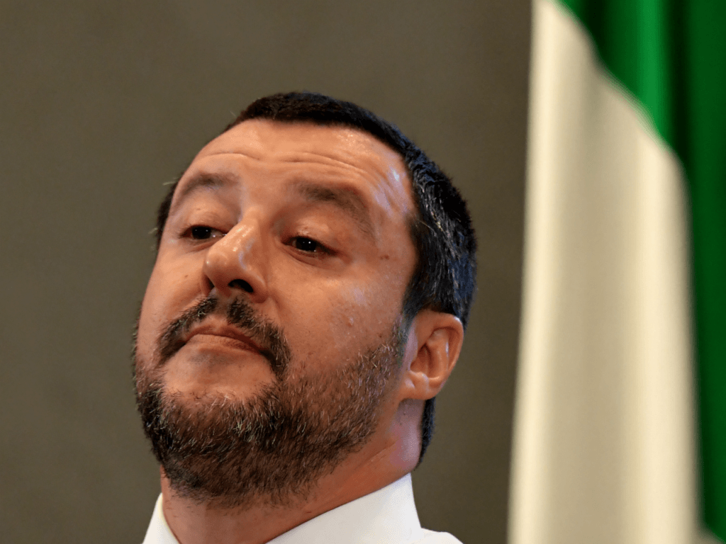 Italy's Salvini: 'Within a Year, We'll See if a United Europe Exists'