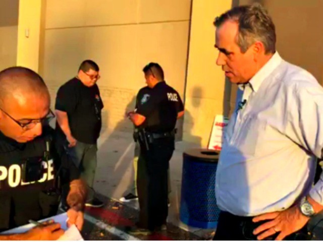 Democrat Jeff Merkley Tries to Storm Detention Center to Livestream Migrant Children