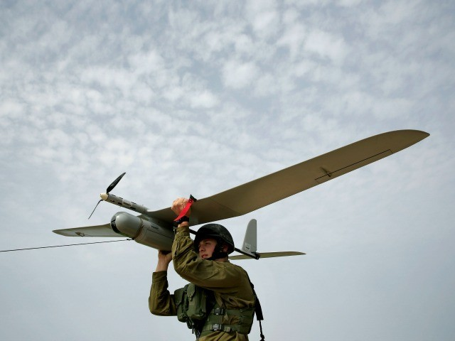 IDF Drone Crashes in Southern Syria