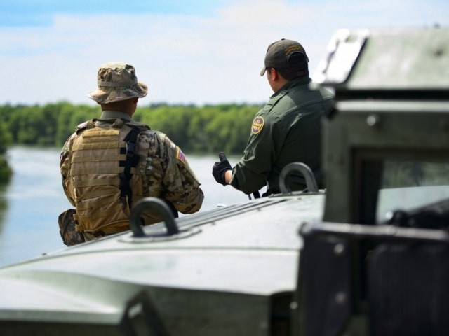 National Guard, Border Patrol Brothers Team Up in Laredo to Secure Border