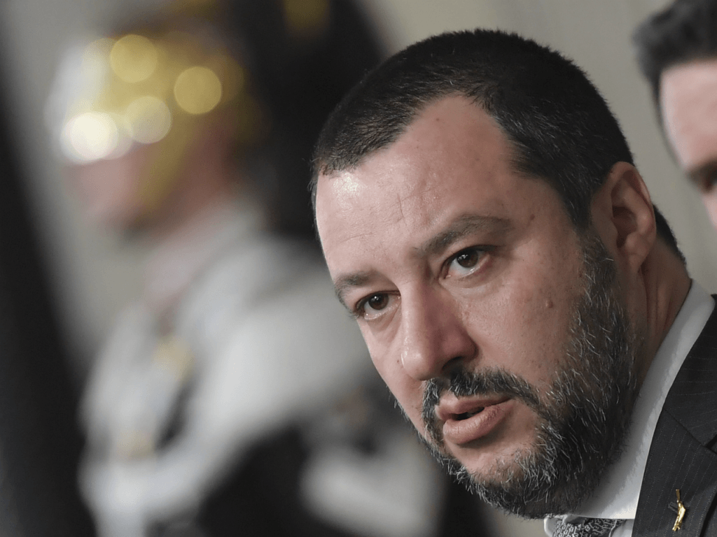 Italian Populist Interior Minister Vows Deportations After Viral Police Migrant Attack Video