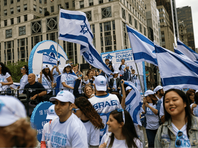 Watch: Tens of Thousands March in NYC to Support Israel