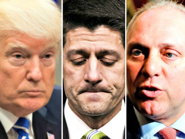 Exclusive -- Majority Whip Steve Scalise Joins President Trump in Opposition to Paul Ryan's Amnesty Bill