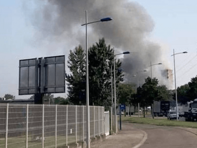 'Massive Explosion': Blast at French-German Border Strasbourg Grain Silo Injures 4, Cause Unclear