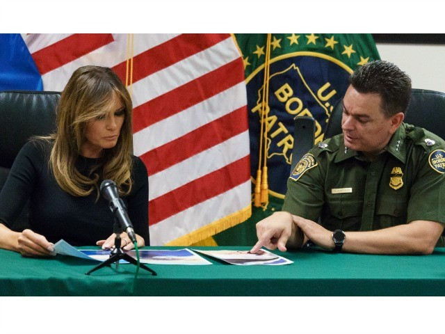 Melania Trump to Border Agents: 'I Am Here to Support You'