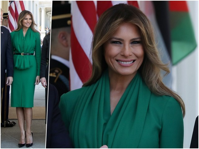 Fashion Notes: Melania Trump's Herve Pierre Dress to Be Sold After Designer is Inundated with Requests