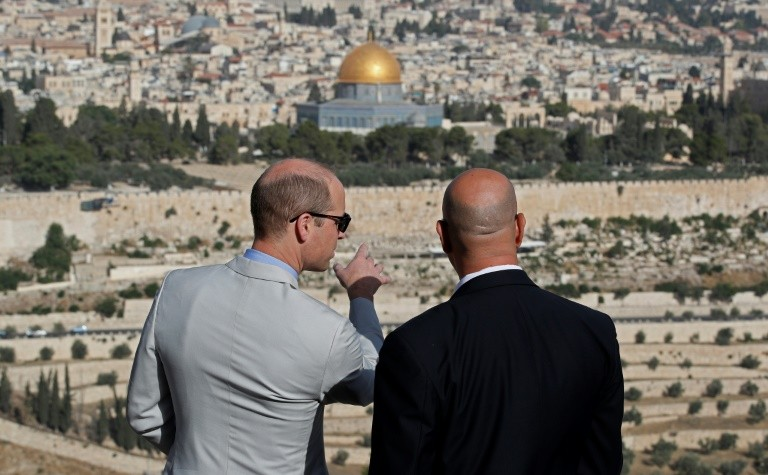 Report: Prince William Refused Meeting With Jerusalem Mayor