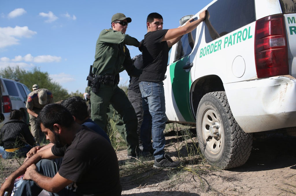 May Arrests of Illegal Border Crossers Up 160 Percent