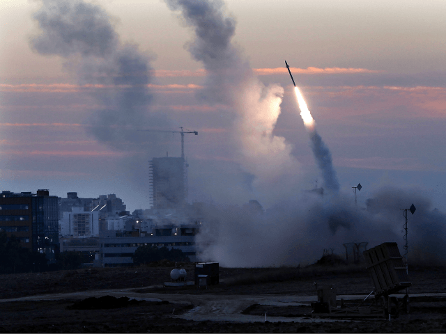 At Least 13 Gaza Terror Rockets Fired at Israel