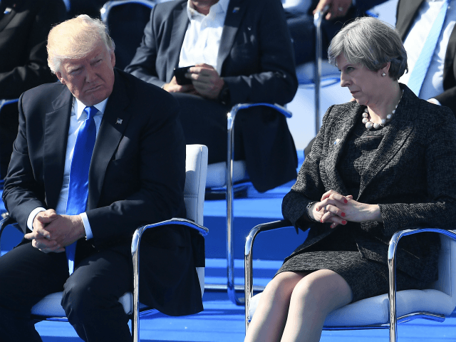 Delingpole: Dear President Trump, Please Don't Blame Us for Our Dreadful Prime Minister...