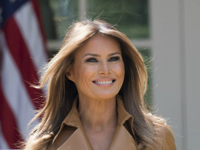 First Lady At Ford's After President Smashes Conspiracy Theories over Her Not Traveling