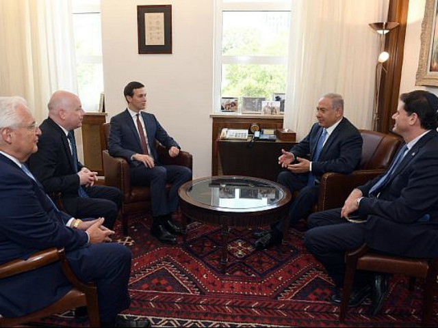 Jared Kushner Meets Netanyahu on Mideast Peace Plan