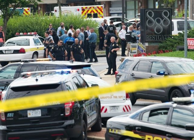 Maryland Authorities Confirm 5 Dead, 7 Injured in Newspaper Office Shooting