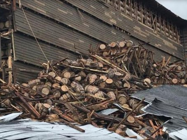 Distillery Warehouse Collapse Causes 9,000 Bourbon Barrels to Crash